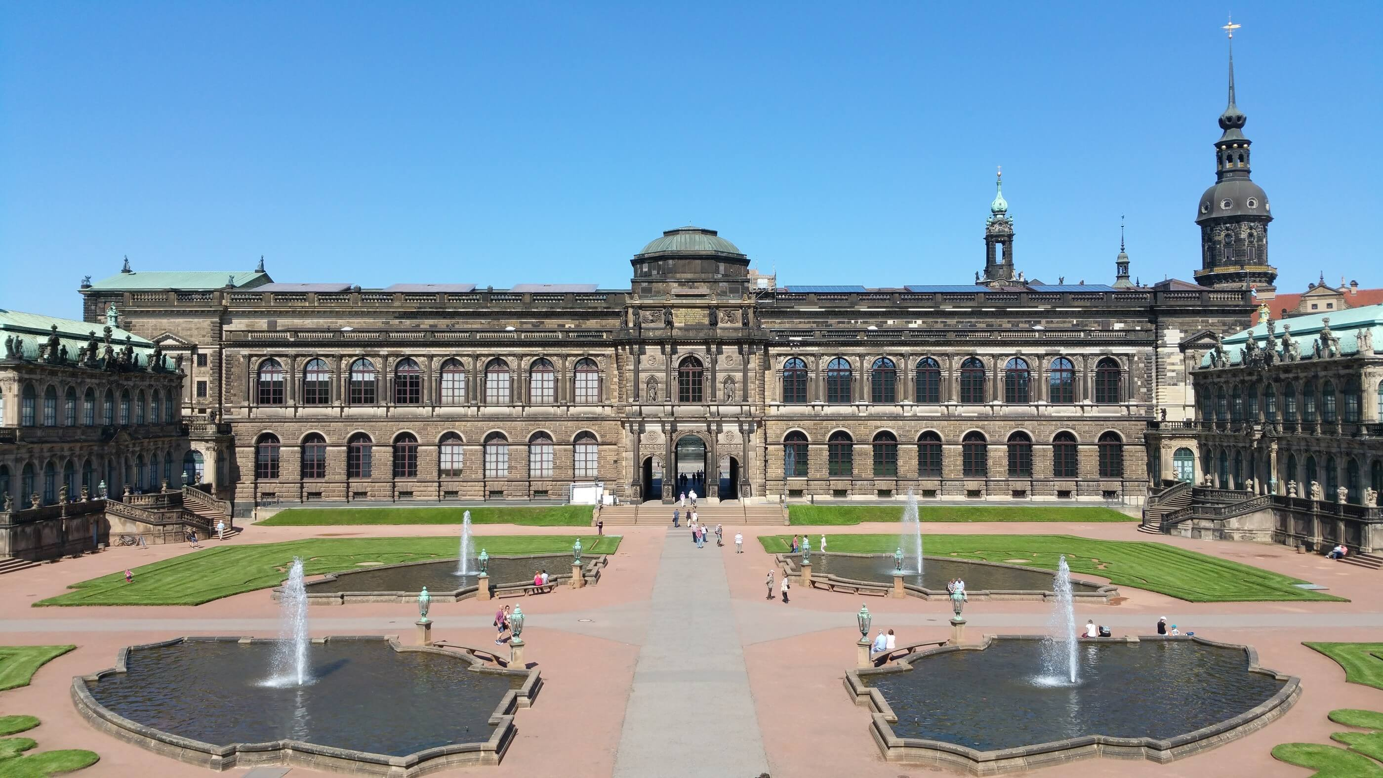 Zwinger Palace Germany Jewel Of Dresden Architecture
