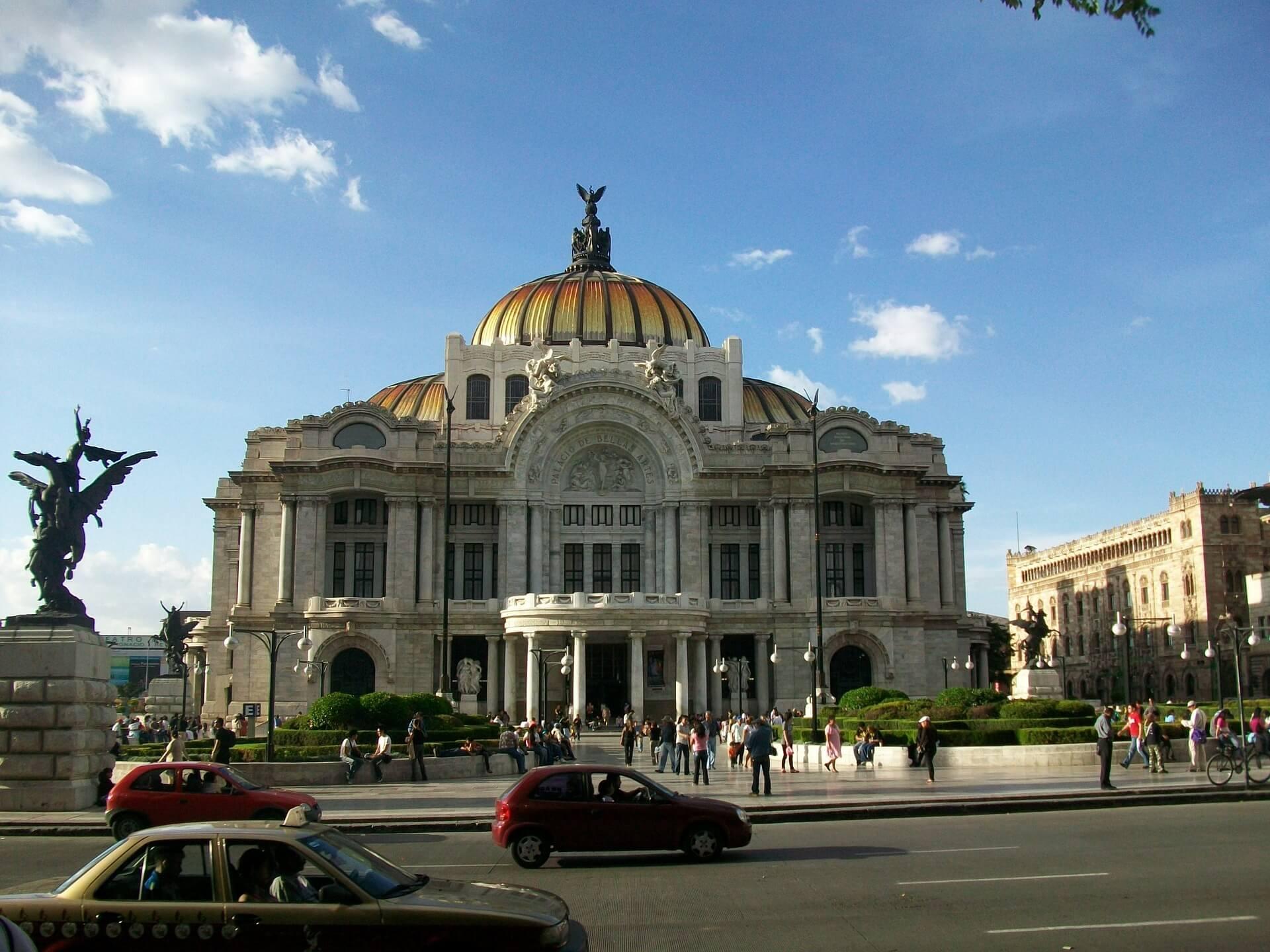 Pałac Sztuk Pięknych w Mexico City