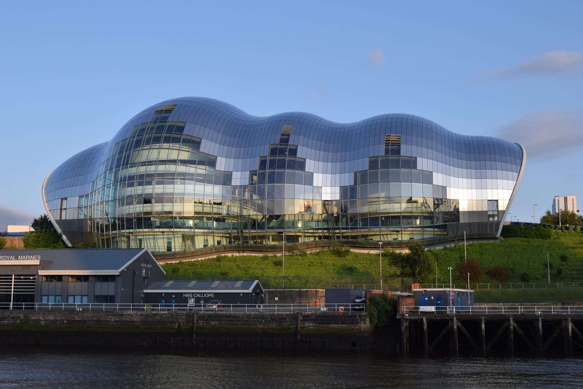 The Sage Gateshead w Gateshead