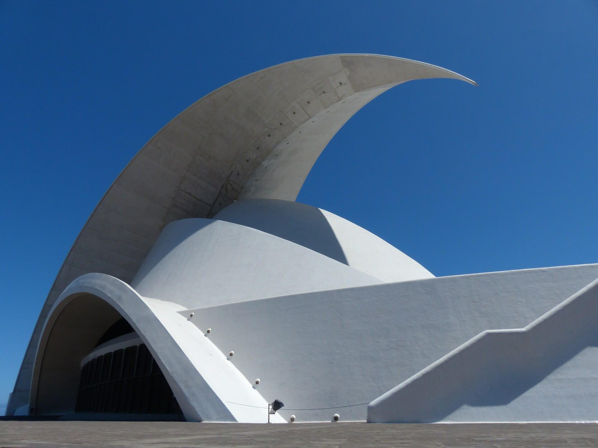 Opera Auditorio de Tenerife w Santa Cruz de Tenerife