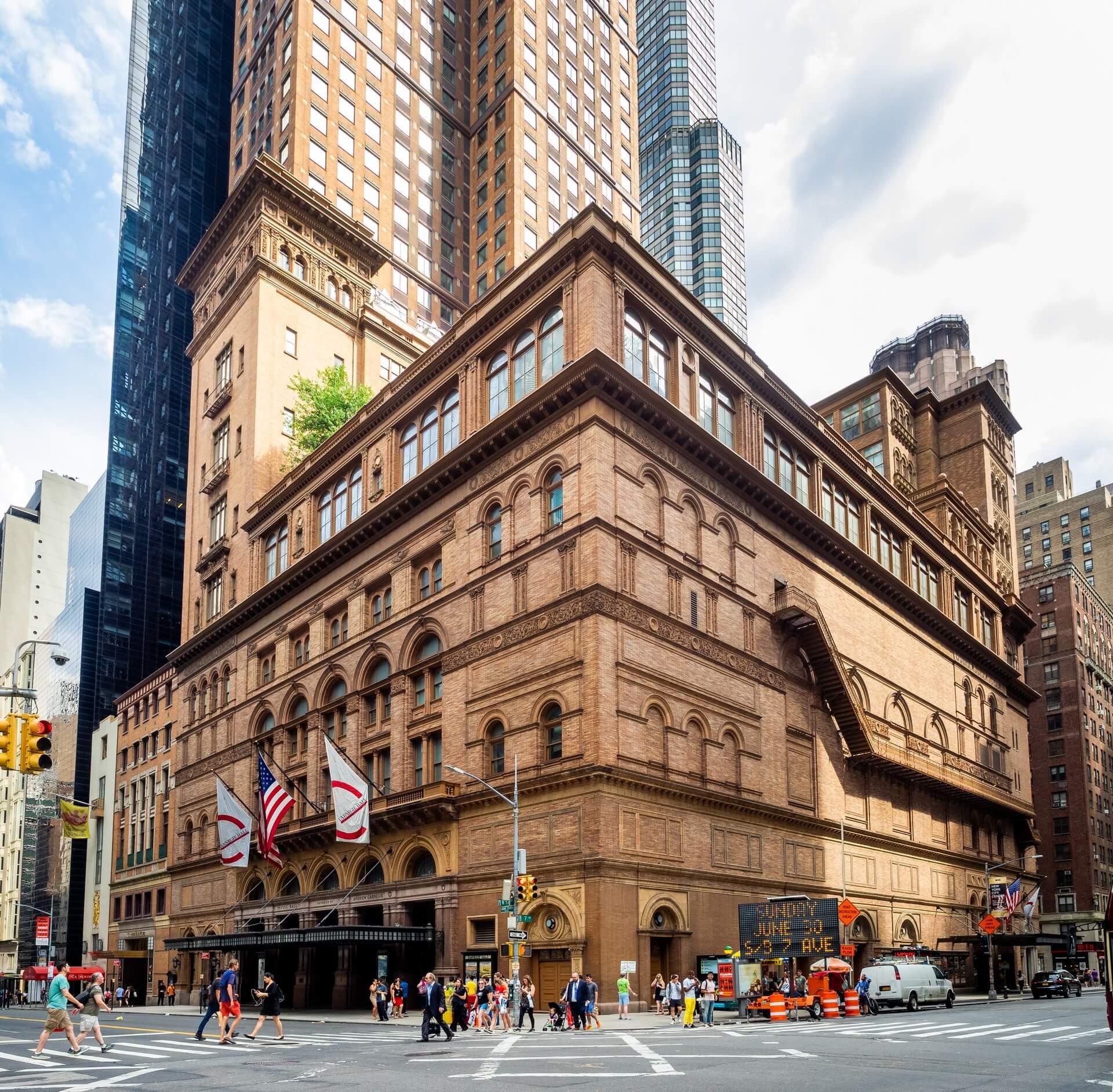 Carnegie Hall w Nowym Jorku