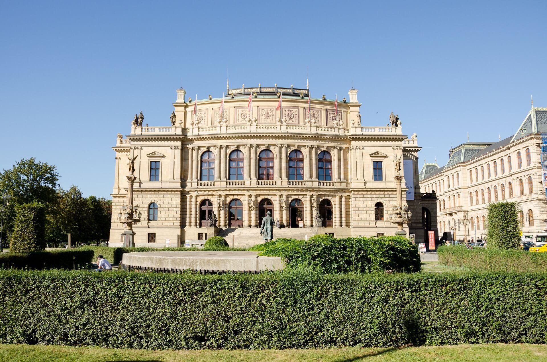 Rudolfinum w Pradze