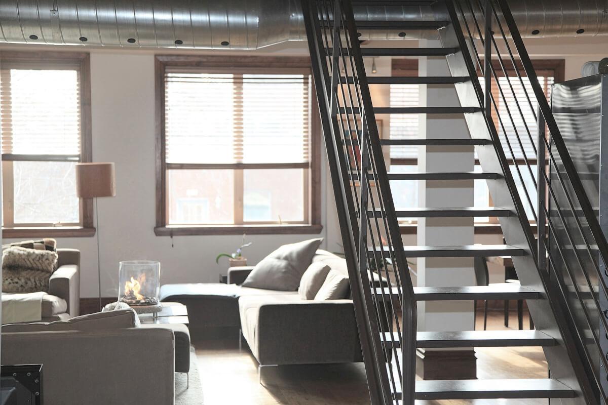 dwukondygnacyjne mieszkanie