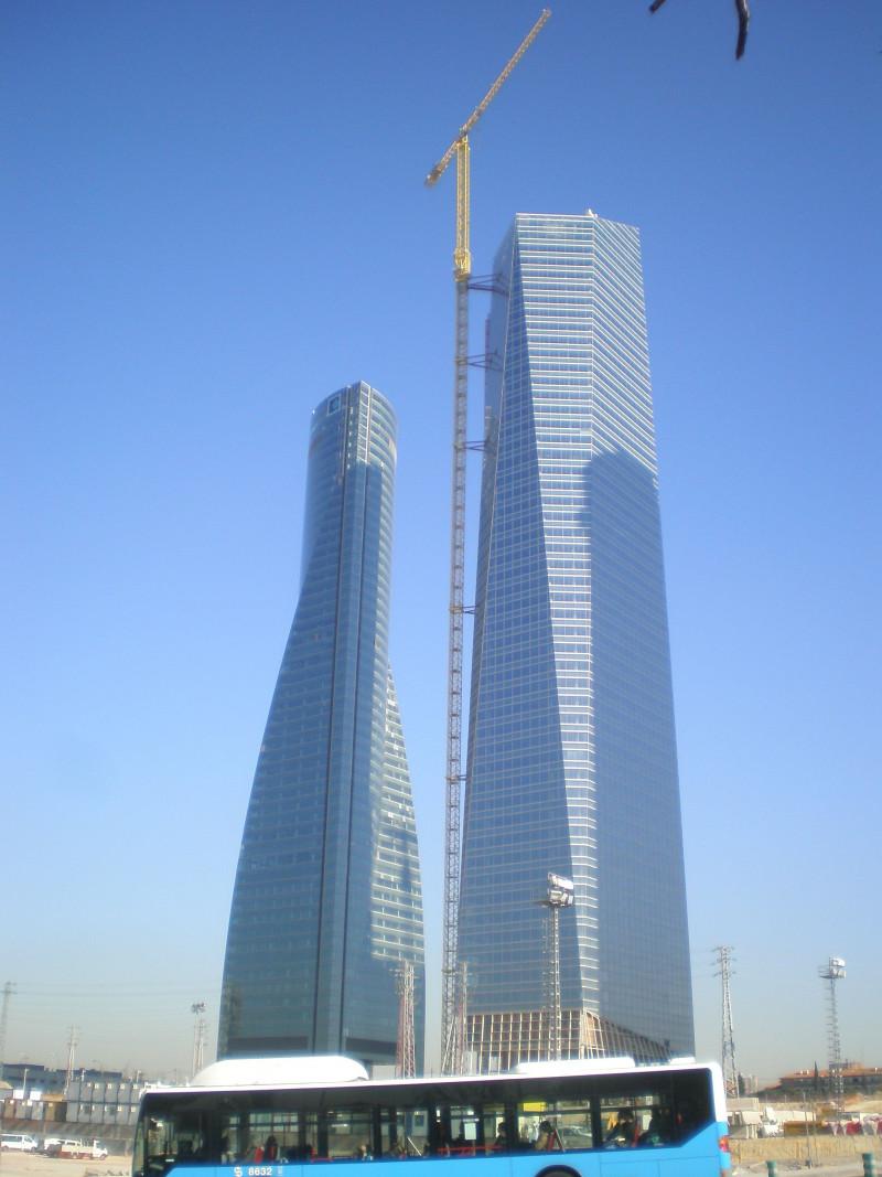 Madrid-quatro torres business area