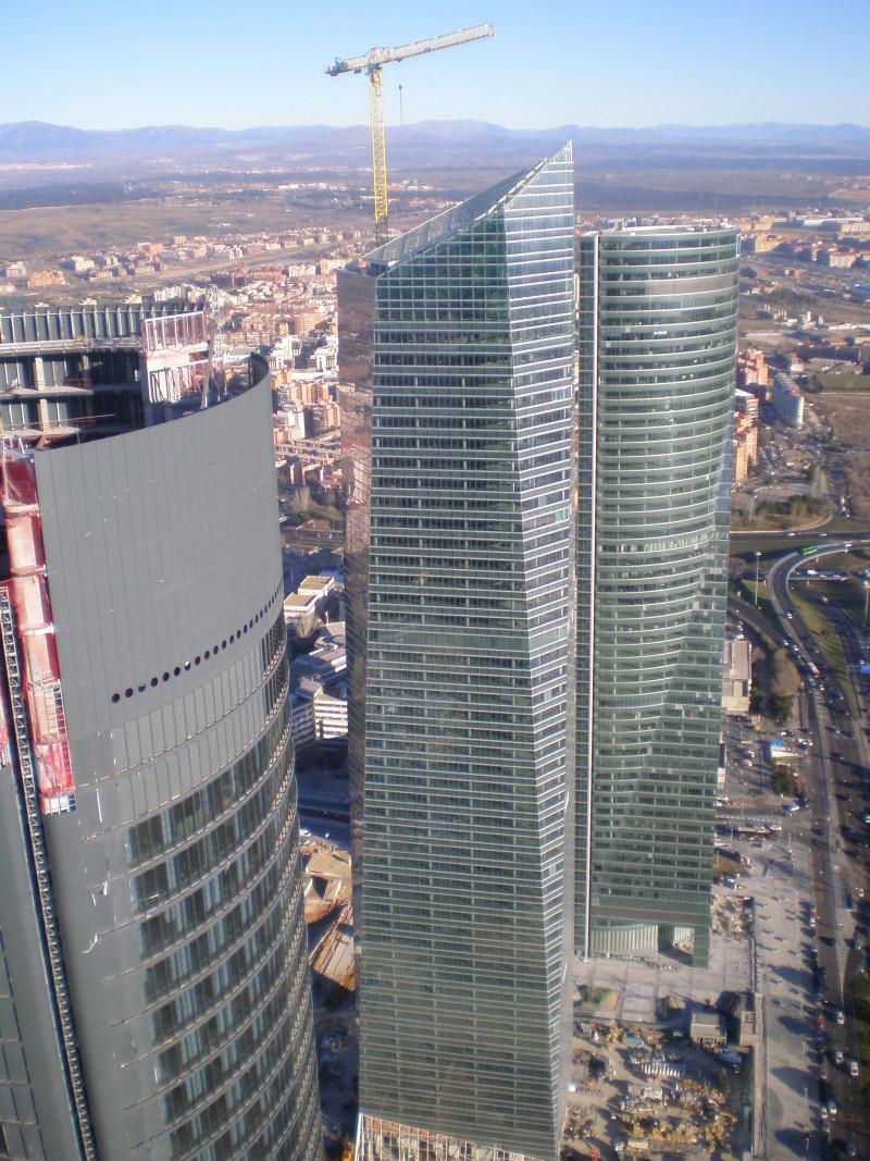Madryt-quatro torres business area