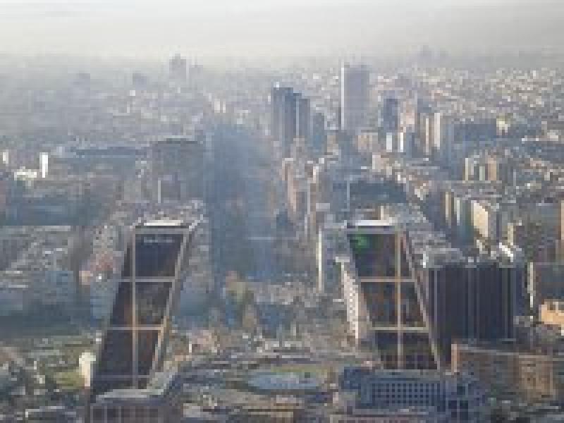 Widok na Madryt z Torre Caja Madrid(Repsol)