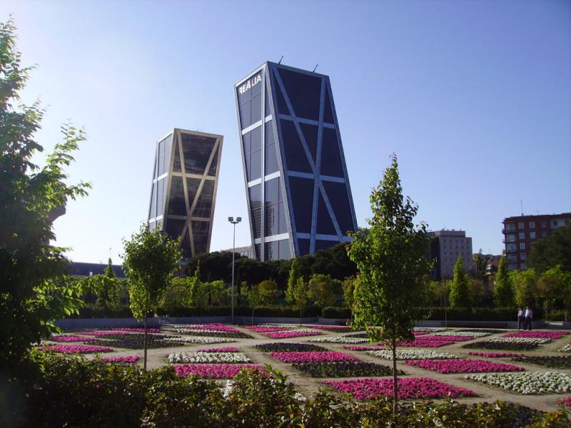 Wieże KIO-Puerta De Europa- Madryt
