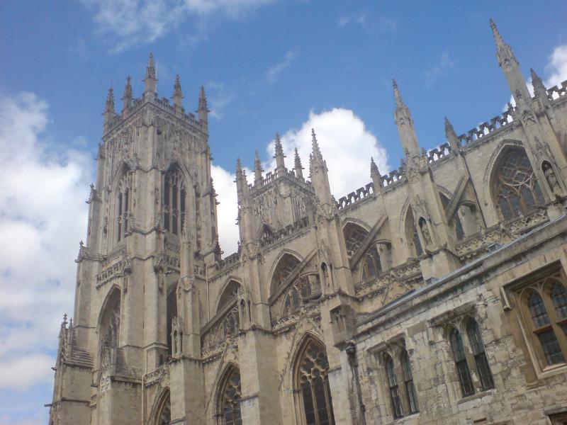 Katedra w Yorku (Anglia)