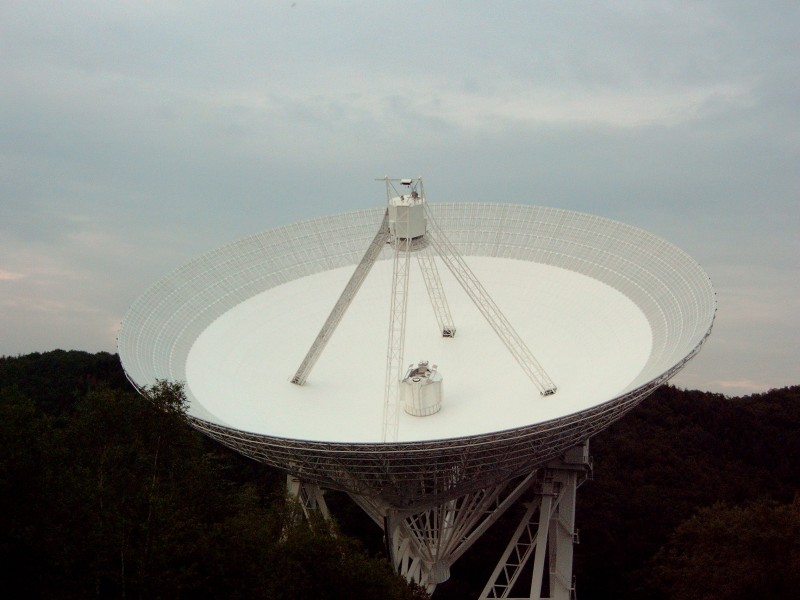Radio telescope, Germany