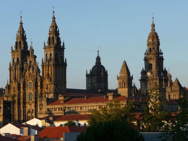 Catedra w Santiago de Compostela, Hiszpania