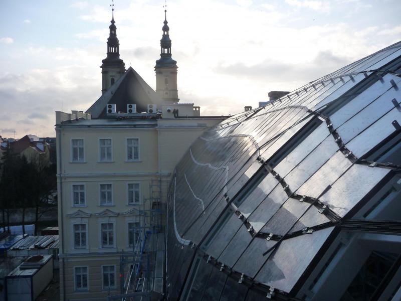 Zadaszenie z zewnatrz Letia-Legnica