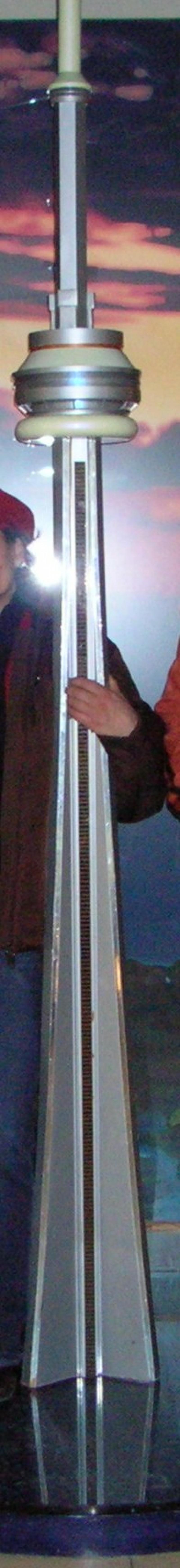 Wieża CN Tower -makieta
