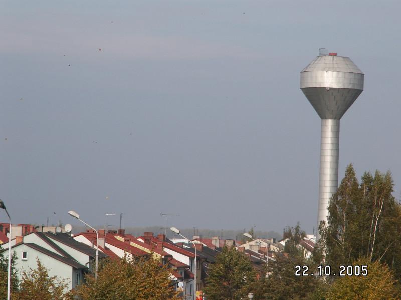 Water tower in Słupca