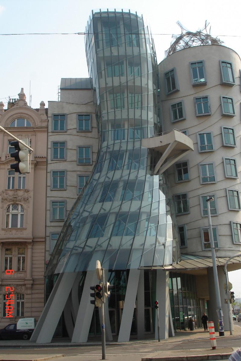 Tańczący dom w Pradze