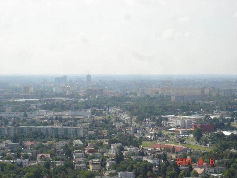 Poznań - widok z wieży RTV