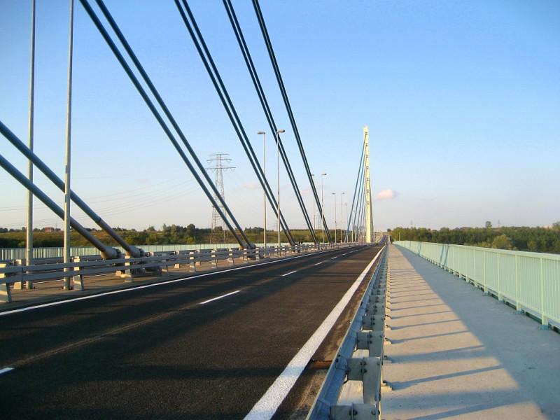 The Solidarity Bridge in Płock