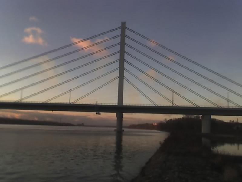 Nowy most w Płocku.