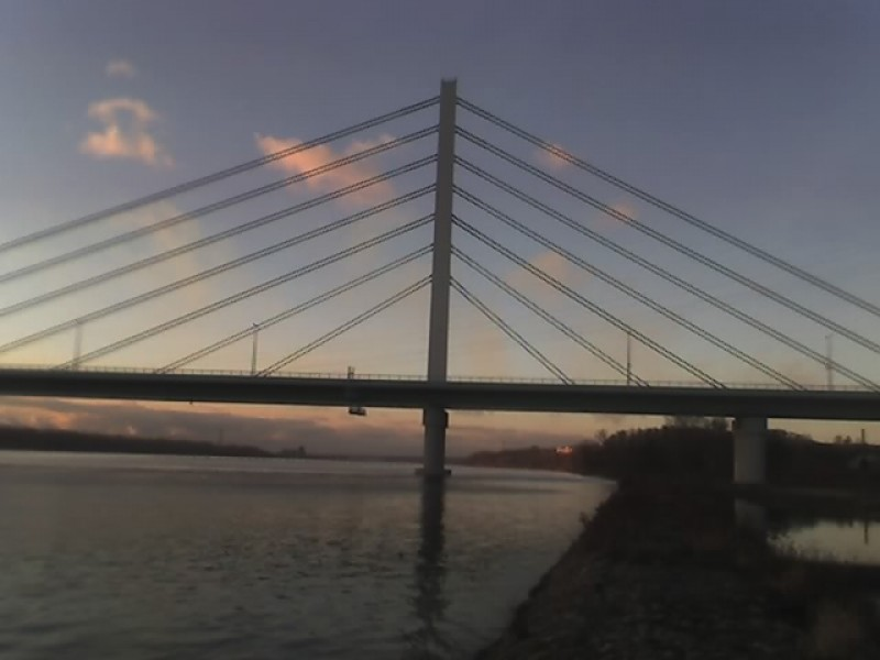 A new bridge in Płock.