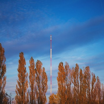 FM and TV mast Olsztyn-Pieczewo