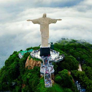 Statua Chrystusa Zbawiciela