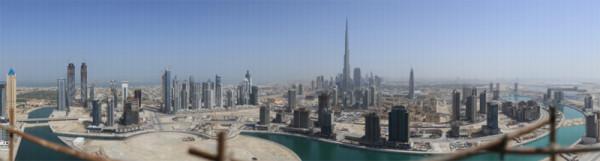 45 gigapikselowe zdjęcie Dubaju