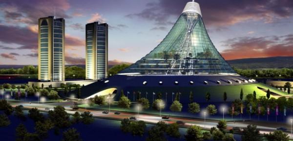 Astana- miasto powstające od zera