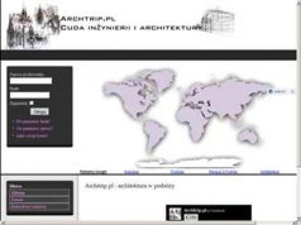Architrip- cuda inżynierii, architektura w podróży