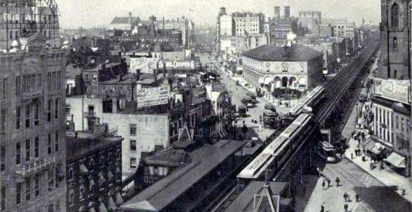 Zbiór starych fotografii Nowego Jorku