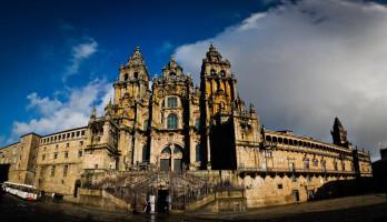 Katedra w Santiago de Compostela od D.Rovchak