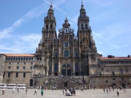 Katedra w Santiago de Compostela od Samantha En Route