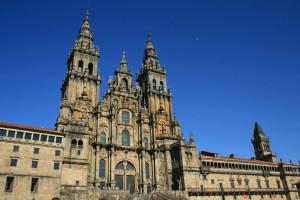 Katedra w Santiago de Compostela od Elentir