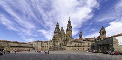 Katedra w Santiago de Compostela od Pedro J Pacheco