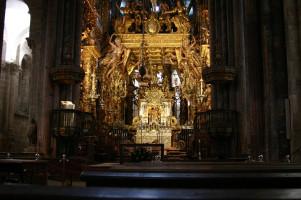 Katedra w Santiago de Compostela od José Luiz Bernardes Ribeiro