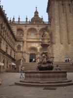 Katedra w Santiago de Compostela od Georges Jansoone