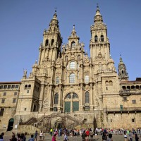 Katedra w Santiago de Compostela od stephenD