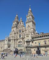 Katedra w Santiago de Compostela od Michał Bulsa