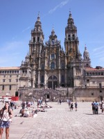 Katedra w Santiago de Compostela od Mmacbeth