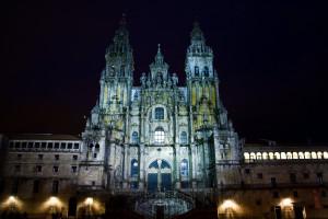 Katedra w Santiago de Compostela od FBEIS