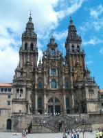 Katedra w Santiago de Compostela od Sergio