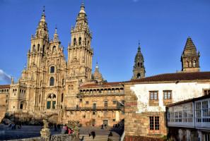 Katedra w Santiago de Compostela od Jocelyn Erskine-Kellie