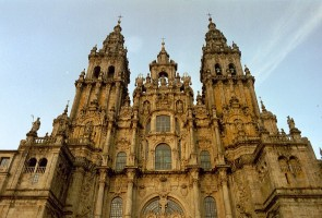 Katedra w Santiago de Compostela od NielsB