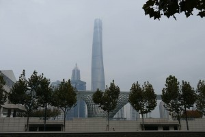 Shanghai Tower od Hermann Luyken