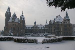 Zamek w Mosznej od Beemwej