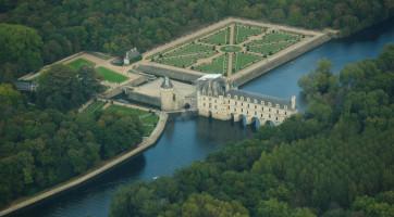 Zamek Chenonceau od Lieven Smits