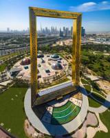 Dubai Frame od @madefromdrone (https://www.instagram.com/madefromdrone/)