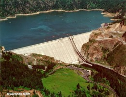 Dworshak Dam by recentissima