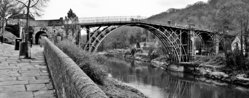 Iron Bridge od Magnus Manske