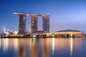 Marina Bay Sands by Someformofhuman