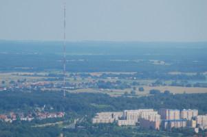 Maszt radiowo-telewizyjny w Olsztynie od Cel 84