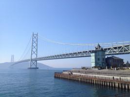 Akashi Kaikyo Bridge by VKaeru